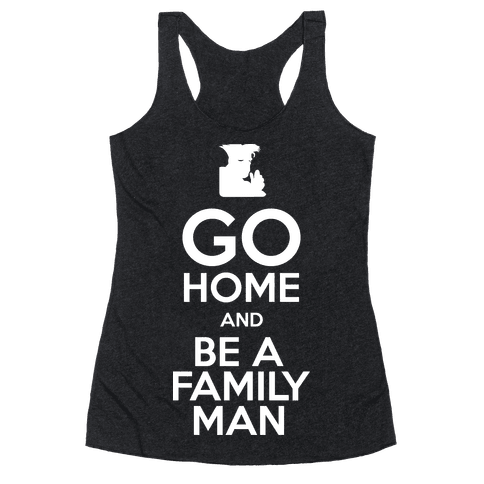 Go Home Racerback Tank Top