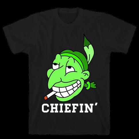 Chiefin' Mens T-Shirt