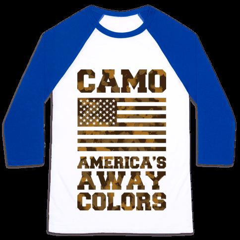 America's Away Colors Baseball Tee