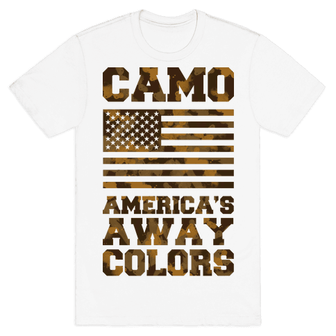 America's Away Colors Mens T-Shirt