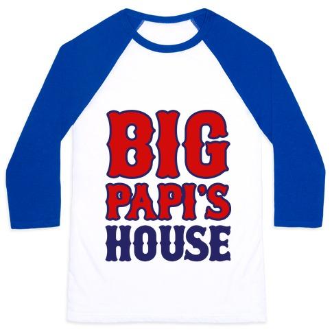 Big Papi's House Baseball Tee