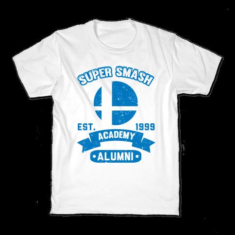 Super Smash Academy Alumni Kids T-Shirt