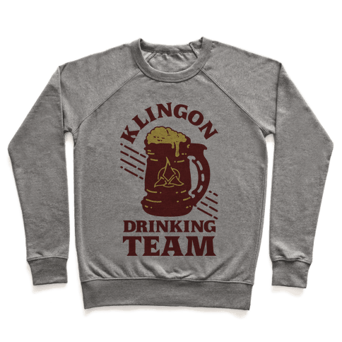 Klingon Drinking Team Pullover