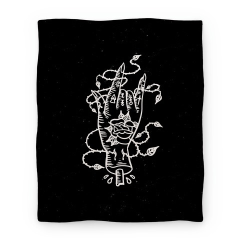 Rock On (Traditional Tattoo) Blanket