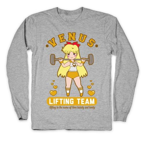 Venus Lifting Team Parody Long Sleeve T-Shirt