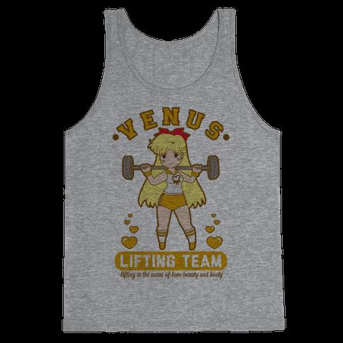 Venus Lifting Team Parody Tank Top