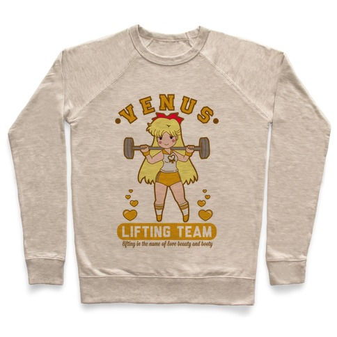 Venus Lifting Team Parody Pullover