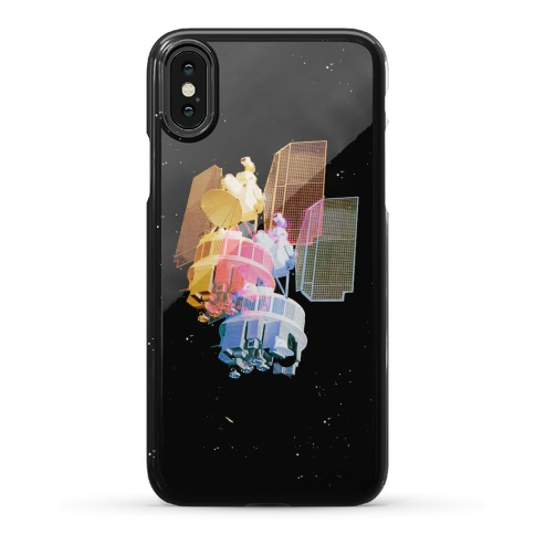 TriColor Space Satellite Phone Case