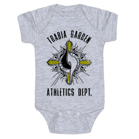 Trabia Garden Athletics Department Baby Onesy