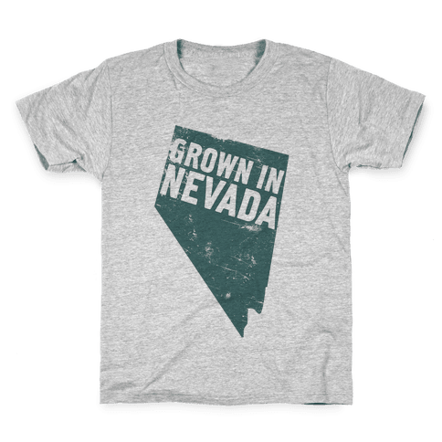 Grown in Nevada Kids T-Shirt