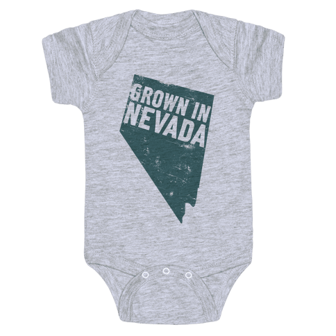 Grown in Nevada Baby Onesy
