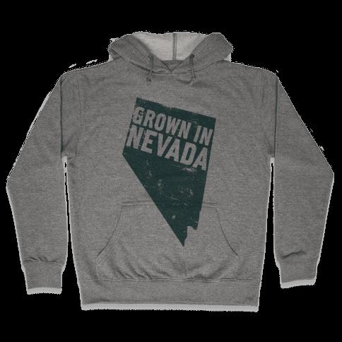 Grown in Nevada Hooded Sweatshirt