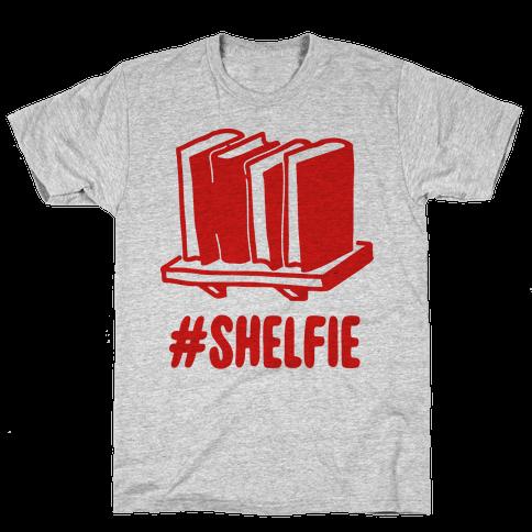 #Shelfie Mens T-Shirt