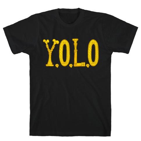 YOLO (golden) T-Shirt