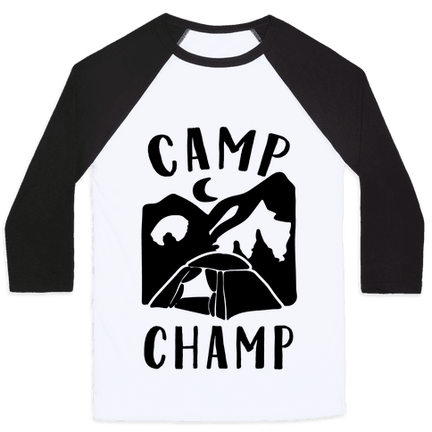 Camp Champ Baseball Tee