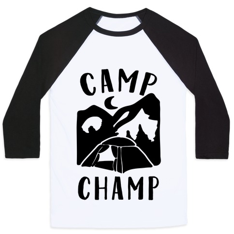 52bcc907d925 Camp Champ Baseball Tee | LookHUMAN