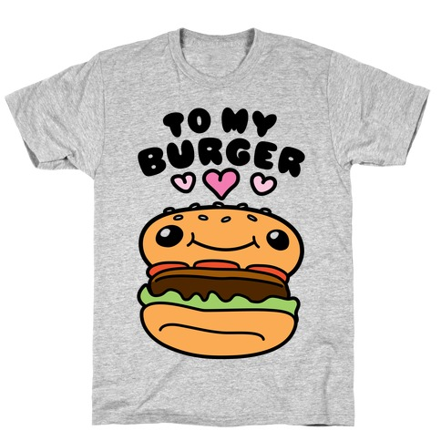 Pretzel Burger Pair T-Shirt