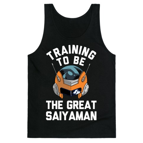 Training To Be The Great Saiyaman Tank Top