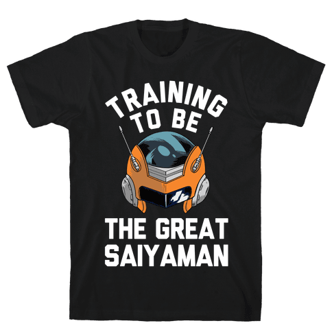 Training To Be The Great Saiyaman Mens T-Shirt