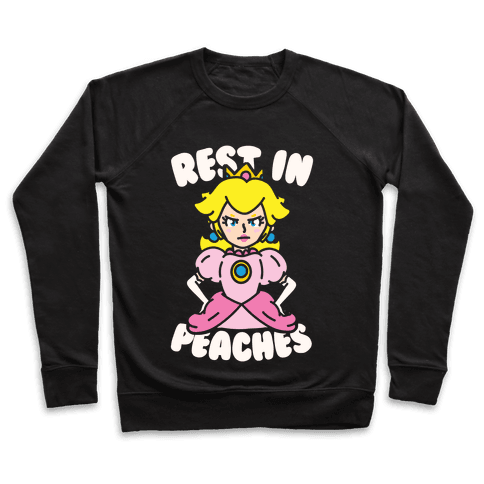 Rest In Peaches Pullover