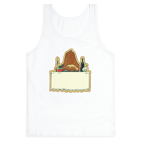 And Big Foot dined alone Tank Top
