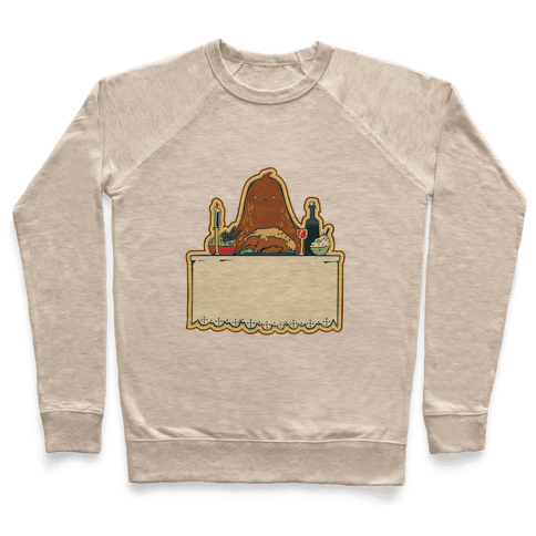 And Big Foot dined alone Pullover
