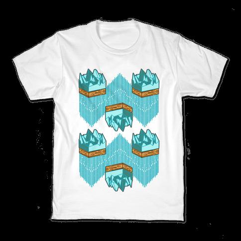 3d Ice Slice Kids T-Shirt