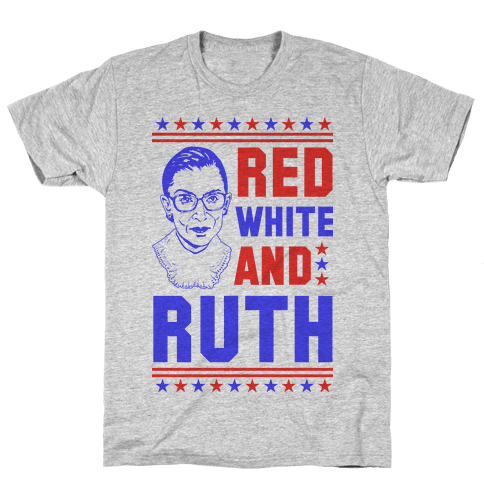 Red White and Ruth Mens T-Shirt