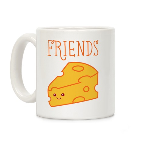 Best Friends Macaroni and Cheese 2 Coffee Mug