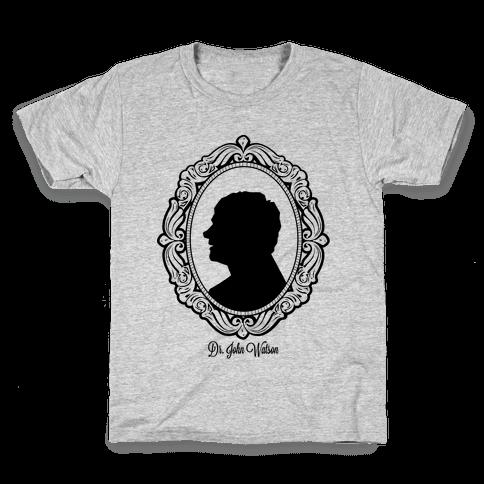 Dr. John Watson Cameo Kids T-Shirt