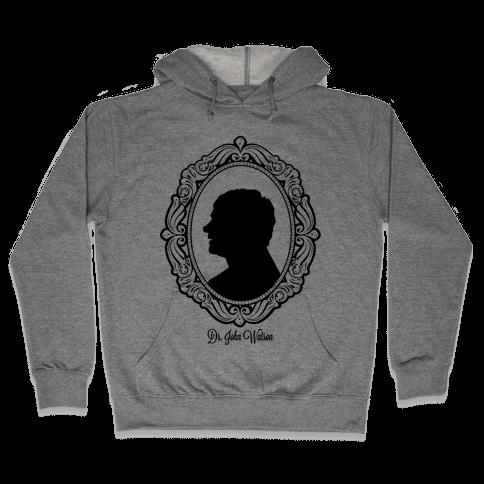 Dr. John Watson Cameo Hooded Sweatshirt