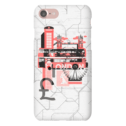 London Travel Visit Phone Case