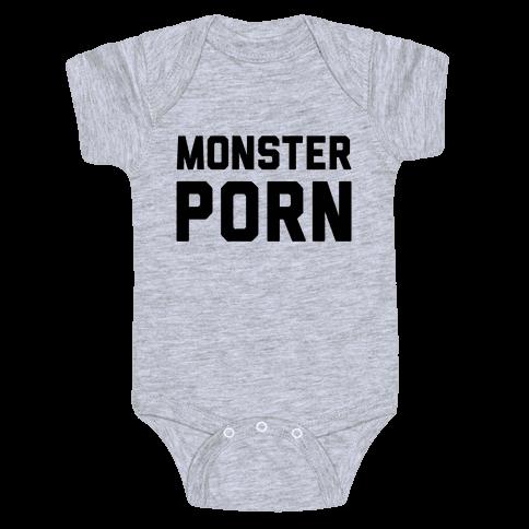 Monster Porn Baby Onesy