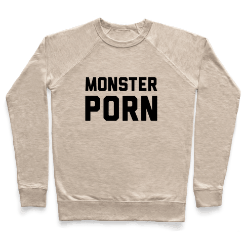 Monster Porn Pullover