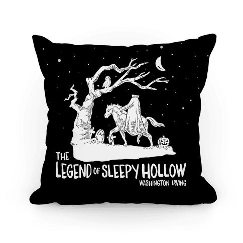 The Legend Of Sleepy Hollow Pillow