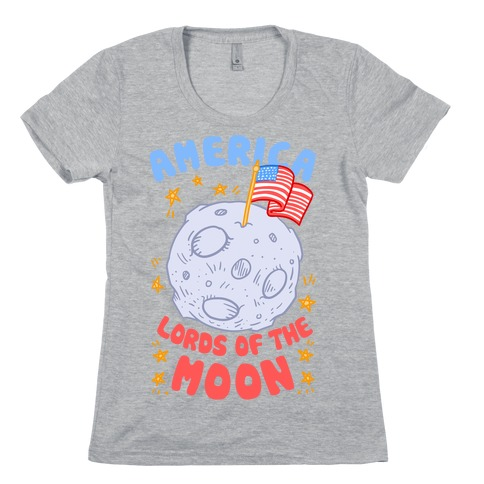 America: Lords of the Moon Womens T-Shirt