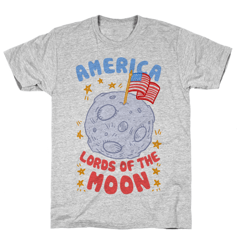 America: Lords of the Moon Mens T-Shirt