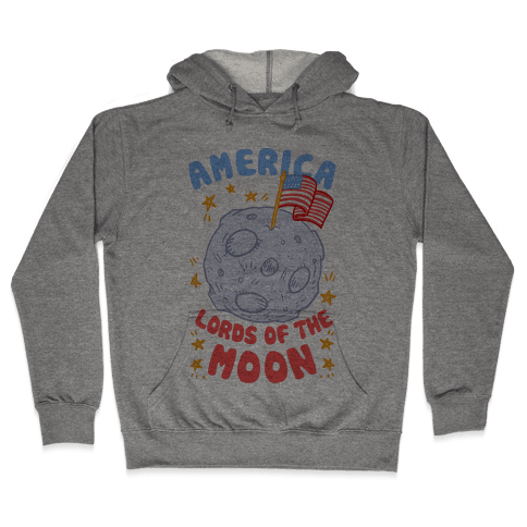 America: Lords of the Moon Hooded Sweatshirt