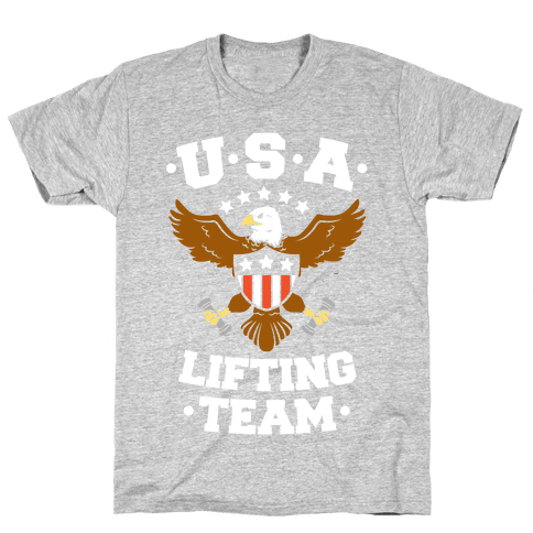 U.S.A. Lifting Team Mens T-Shirt
