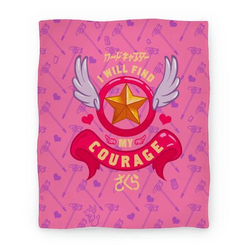 Cardcaptor Sakura: I Will Find My Courage Blanket Blanket