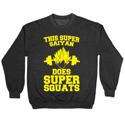 This Super Saiyan Does Super Squats Pullover