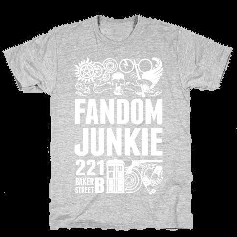 Fandom Junkie Mens T-Shirt