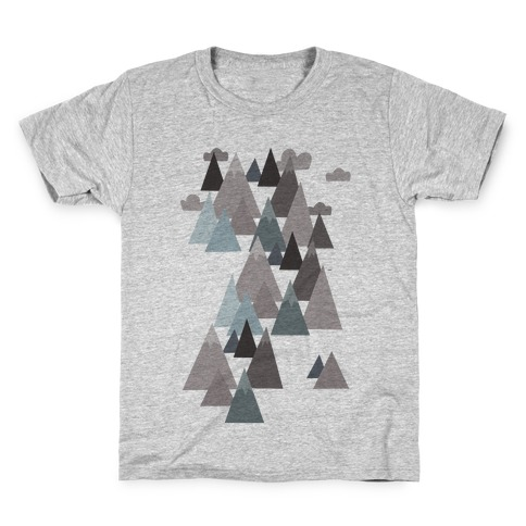 Winter Mountains Kids T-Shirt