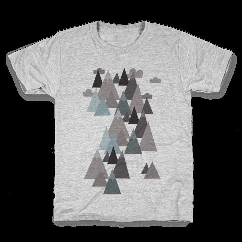 Winter Mountains Kids T-Shirt