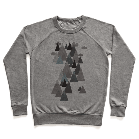 Winter Mountains Pullover