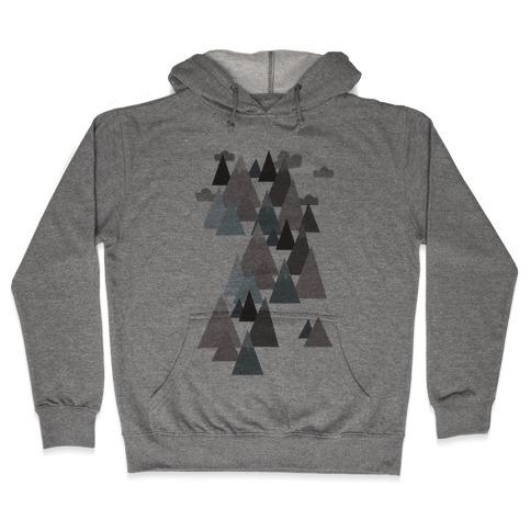 Winter Mountains Hooded Sweatshirt