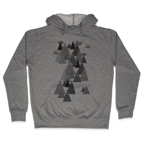 Winter Mountains Hooded Sweatshirt