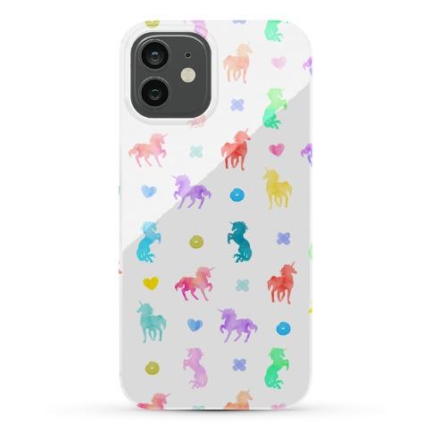 Simple Unicorn Pattern Phone Case