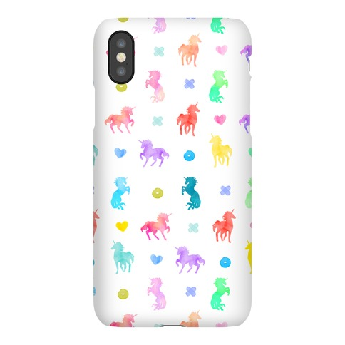 Simple Unicorn Pattern Phone Case