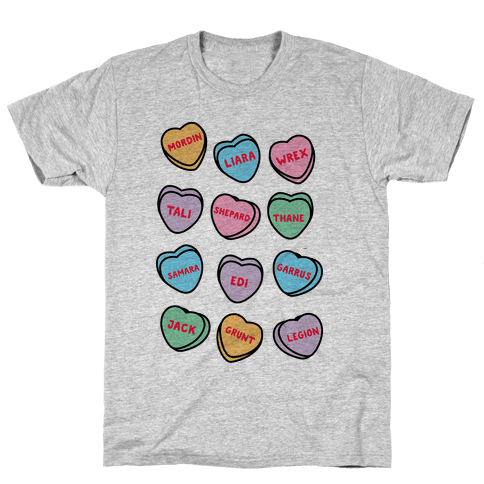 Candy Heart Squad Members Mens/Unisex T-Shirt